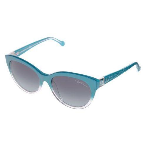 Albaldah okulary przeciwsłoneczne niebieski uni Roberto cavalli