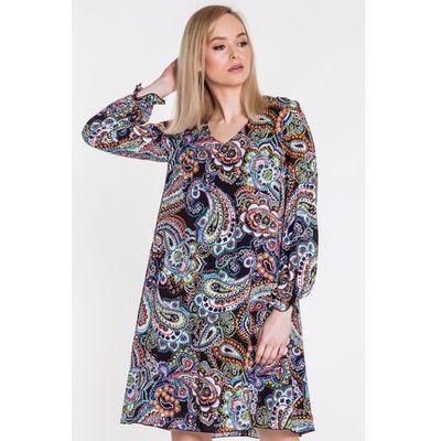 d224d09287 suknie sukienki sukienka letnia rozmiar 46 kolor wielobarwny ...