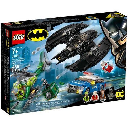 LEGO klocki Super Heroes 76120 Batwing and The Riddler Heist