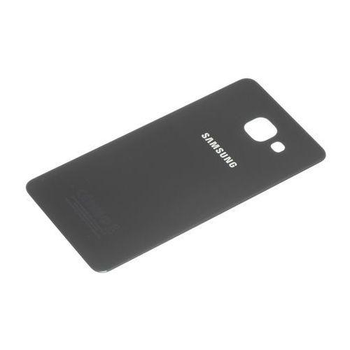 Samsung Oryginalna klapka baterii galaxy a5 2016 czarna grade b - czarny \ grade b
