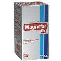 MAGNEFAR B6 x 100 tabletek - 100 tabletek