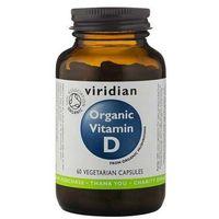 BIO naturalna witamina D (60 kaps.) Viridian (5060003592679)