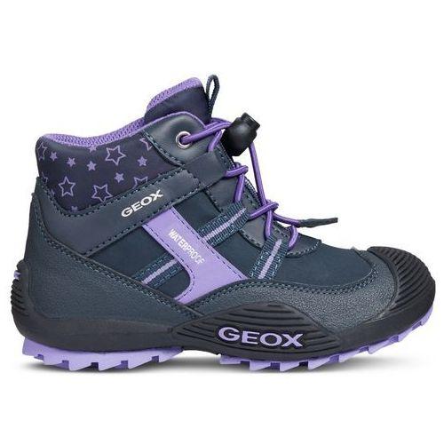 Kod kuponu oryginalne buty nowe przyloty Buty za kostkę dziewczęce Atreus 32 niebieski (Geox)
