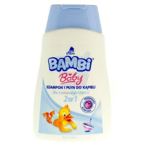 Bambi Szampon z płynem do kąpieli dla dzieci 2w1 300 ml