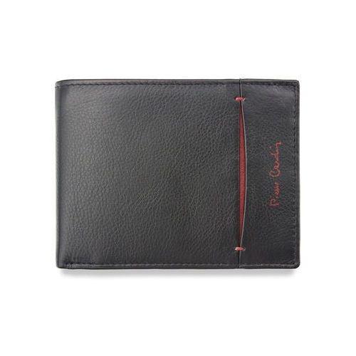 90cf270bc3bd1 Czarno czerwony portfel męski skórzany tilak07 8805 - czarny + czerwony marki  Pierre cardin - fotografia