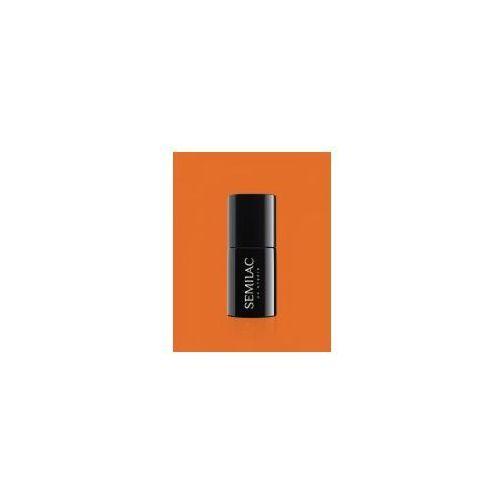 Lakier hybrydowy 528 orange, 7ml - krótka data ważności (11.2019) marki Semilac