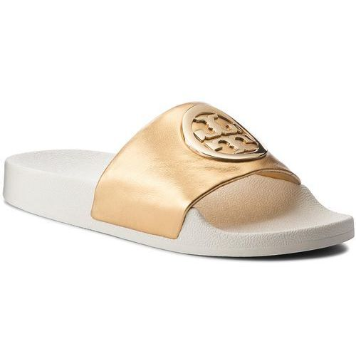 c48ac7222 Tory Burch Klapki TORY BURCH - Lina Slide 49174 Gold 701