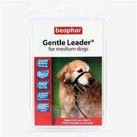 Beaphar gentle leader - obroża uzdowa - kolor czarny rozmiar l - l