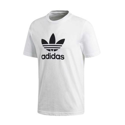adidas TREFOIL T SHIRT WHITE S, bawełna