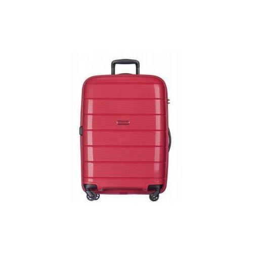 PUCCINI walizka duża twarda z kolekcji MADAGASCAR MADAGASKAR PP013 4 koła zamek szyfrowy TSA materiał polipropylen