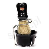 Zestaw do golenia OMEGA 4918 - pędzelek, uchwyt oraz miseczka
