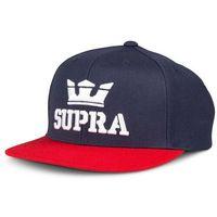 czapka z daszkiem SUPRA - Above II snapback hat Navy/Red (402)