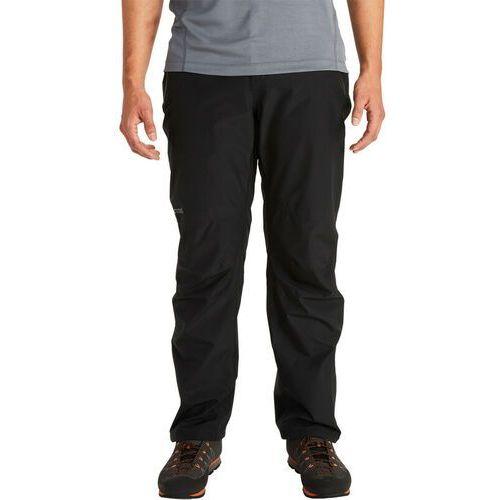 minimalist spodnie mężczyźni, black m 2020 spodnie przeciwdeszczowe marki Marmot