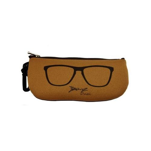 Okulary przeciwsłoneczne dzieci 4-10lat UV400 BANZ - Brown/Tan