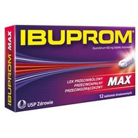 IBUPROM Max x 12 tabletek - 12 tabletek