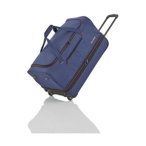 Travelite basics torba podróżna na kółkach 51/64l marine 2-koła - granatowy