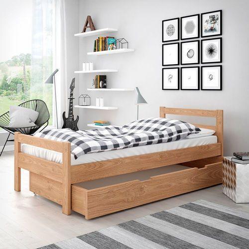 Łóżko Slim Bez szuflady Olej naturalny Olcha 80/200 tel: 575-636-868, szybko, bezpiecznie, 30 dni na zwrot, __UNKNOWN__