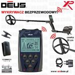 "Wykrywacz metali xp deus rc panel cewka 28 cm dd (11"" dd) gw: 5lat marki Xp metal detectors"