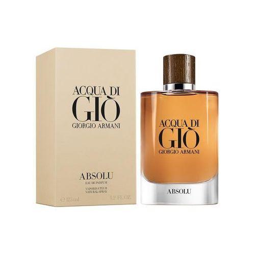 Giorgio Armani Acqua di Gio Absolu, Woda perfumowana, 125ml - fotografia produktu