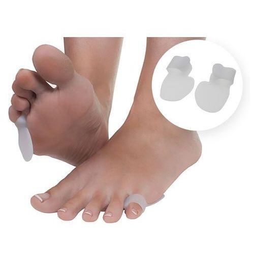 Silikonowe osłonki na małego palca stopy - D046