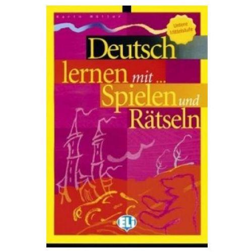Deutsch Lernen mit... Spielen und Rätseln Untere Mittelstufe, oprawa miękka