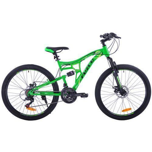 "Fuzlu perfect power 26"" 2xt green/black rower - green/black"