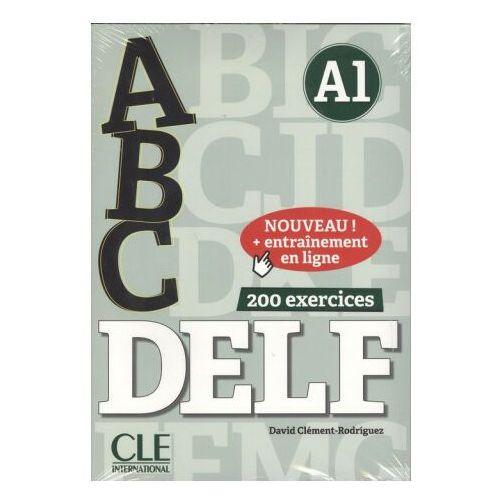 ABC DELF A1 książka + klucz + CD mp3 - David Clement-Rodriguez (9782090382525)