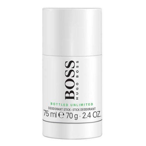 Hugo boss bottled unlimited, 75 ml. dezodorant sztyft - hugo boss darmowa dostawa kiosk ruchu
