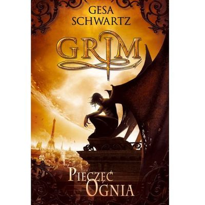 Grim Pieczęć ognia - Gesa Schwartz (628 str.)