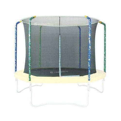 Zestaw trampolina, siatka ochronna i osłona sprężyn inSPORTline Sun 366 cm