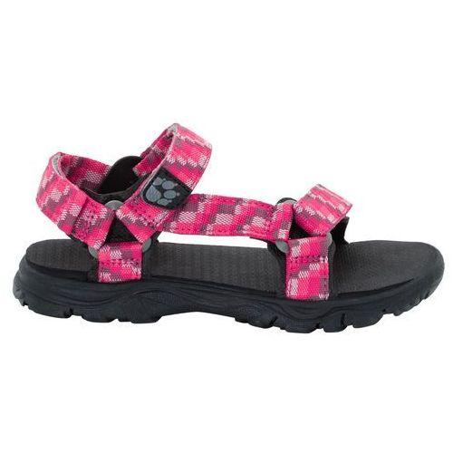Jack wolfskin Sandały seven seas 2 sandal g tropic pink - 36