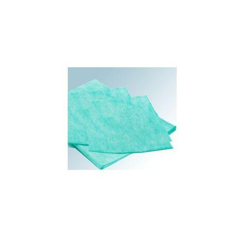 Prześcieradło włókninowe - zielone 210 x 80cm 100szt., 0000-00-0402-MER-666