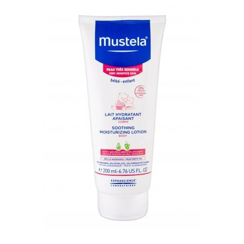 bébé soothing moisturizing body lotion mleczko do ciała 200 ml dla dzieci marki Mustela
