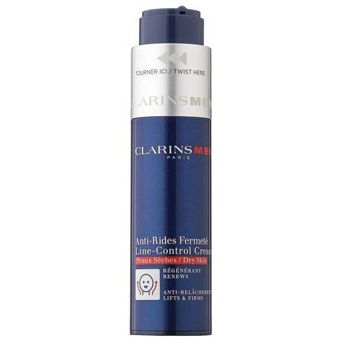Clarins Men Age Control krem przeciw zmarszczkom do skóry suchej (Line Control Cream) 50 ml