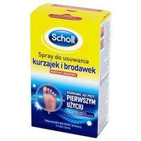 Scholl - Freeze Verruca & Wart Remover - Spray do usuwania kurzajek i brodawek - 80 ml - szczegóły w sklepEstetyka.pl