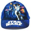 Dziecięca czapka z daszkiem Star Wars Granatowa - Kolorowy   Granatowy