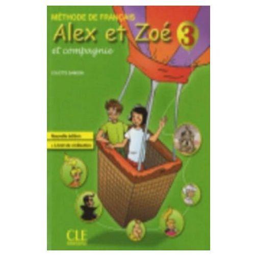 Alex Et Zoe 3 Podręcznik + Livret De Civilisation, oprawa miękka