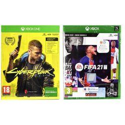 Fifa 21 gra xbox one darmowy transport marki Electronic arts