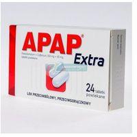 Apap Extra tabl.powl. (0,5g+0,065g) 24 tab (5909991107147)