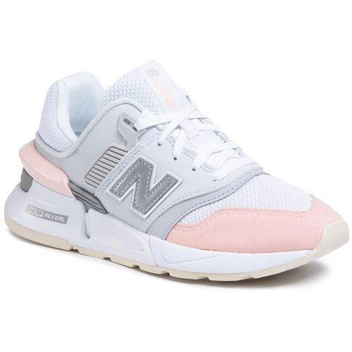Sneakersy - ws997gfj biały szary, New balance, 36-41.5