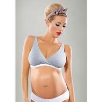 Biustonosz ciążowy i do karmienia LILLY GREY