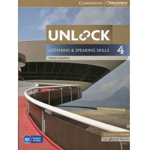 Unlock: Listening & Speaking Skills 4. Podręcznik + Online Workbook (2014)