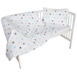 2-częściowy zestaw pościeli dziecięcej - gwiazdy, niebieski marki Cosing