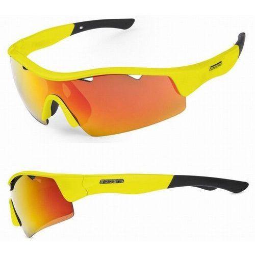 Okulary stingray żółte, 2 pary soczewek marki Accent