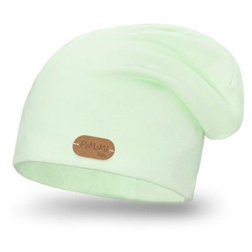 Wiosenna czapka PaMaMi - Pistacjowy - Pistacjowy