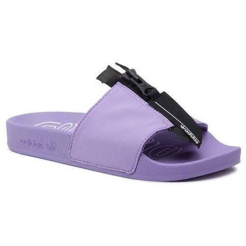 Klapki adidas - adilette Zip W EE5081 Chapur/Cblack/Ftwwht, kolor fioletowy