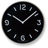 Lemnos Zegar ścienny mono clock czarny (4260278081323)