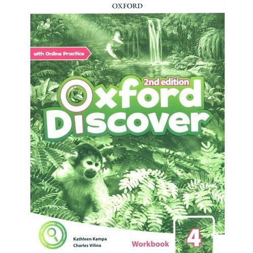 Oxford discover 4 wb + online practice w.2020 - praca zbiorowa (9780194053983)