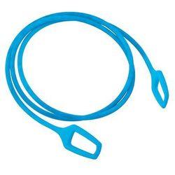 Knog Zamknięcie rowerowe - linka ringmaster 1.2m niebieski