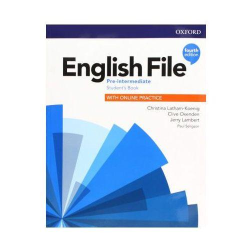 English File 4E Pre-Interned. SB + online practice (9780194037419)
